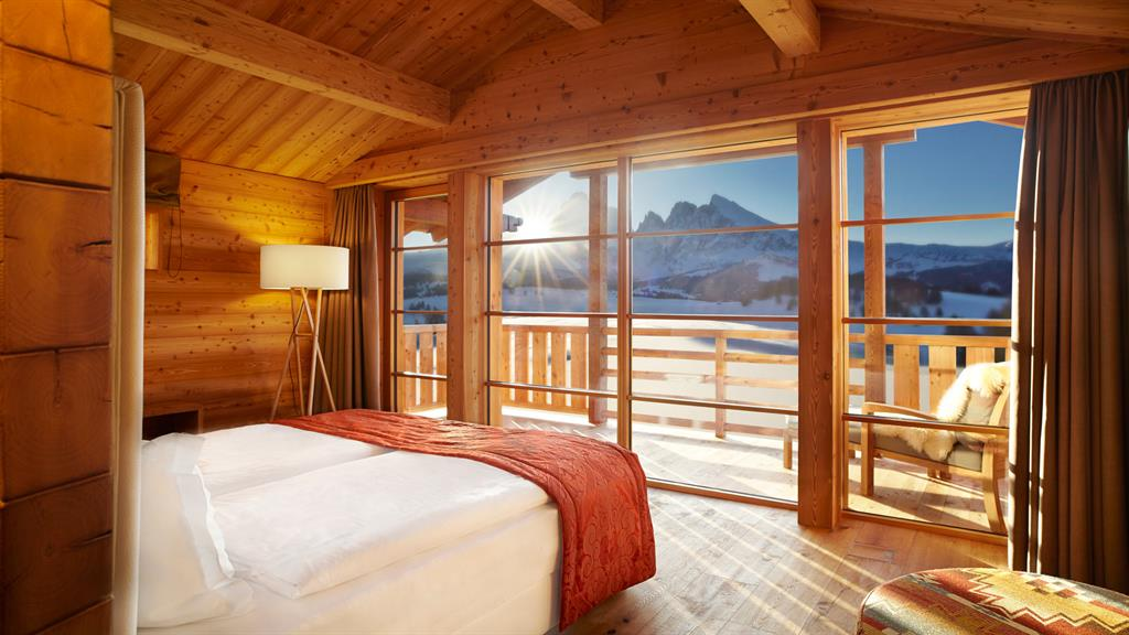 Adler Mountain Lodge cosy winter hotels in europe