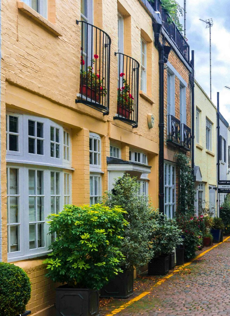 Albion mews prettiest streets in london_