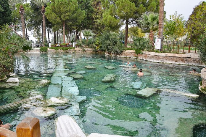 Places to see in Pamukkale Antique Pool