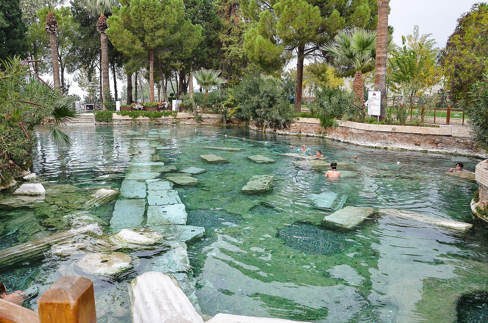 Antique Pool - Cleopatra's pool