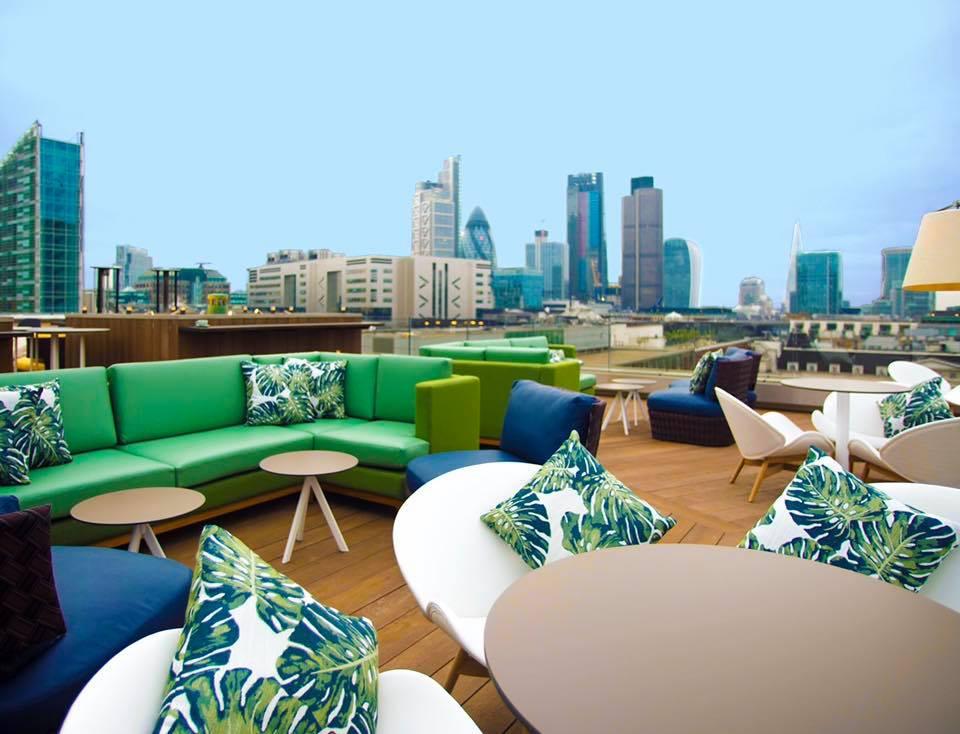 Aviary best rooftop in london 1
