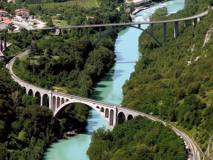 Bohinj Steam Railway solkan bridge jpg