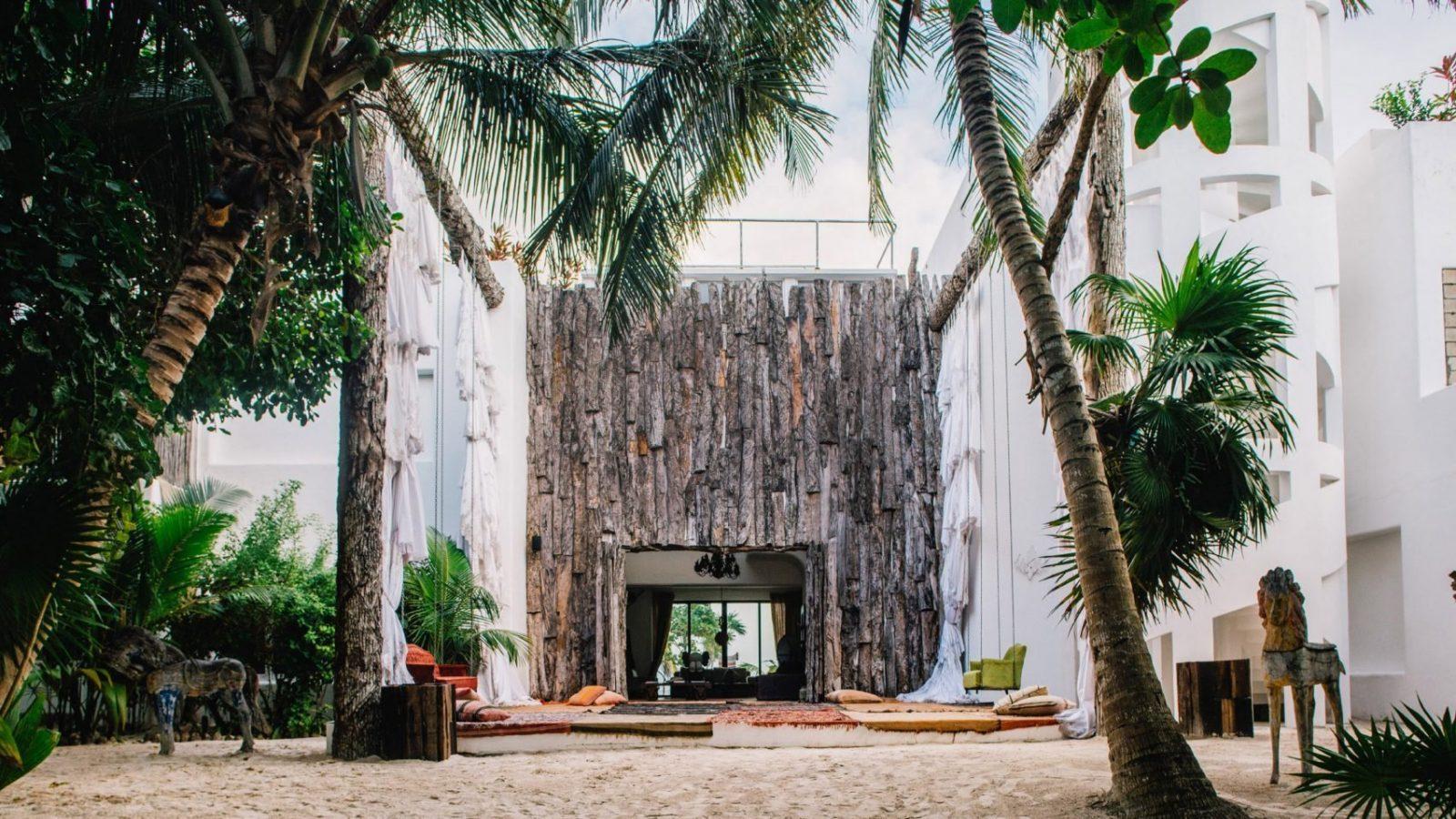 Casa Malca Pablo Escobar's mansion in Tulum