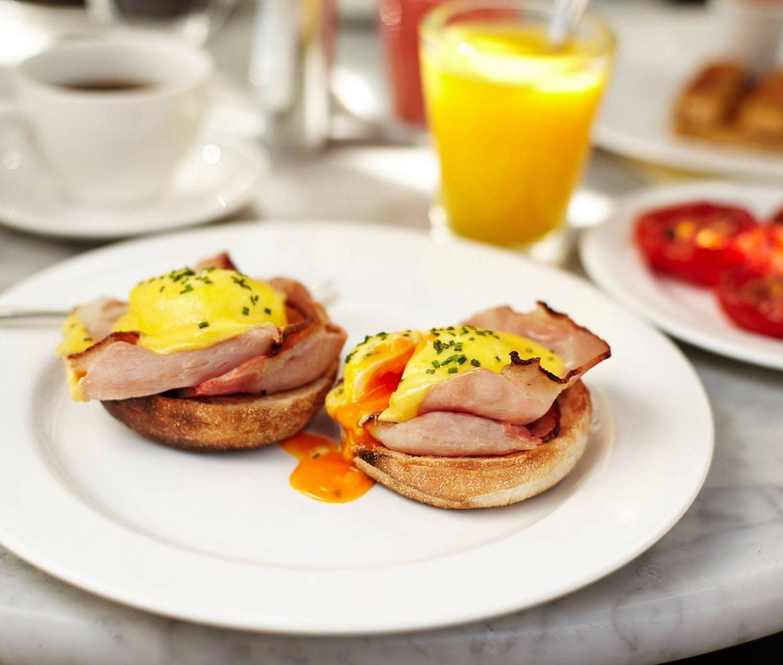 Dean Street Townhouse breakfast