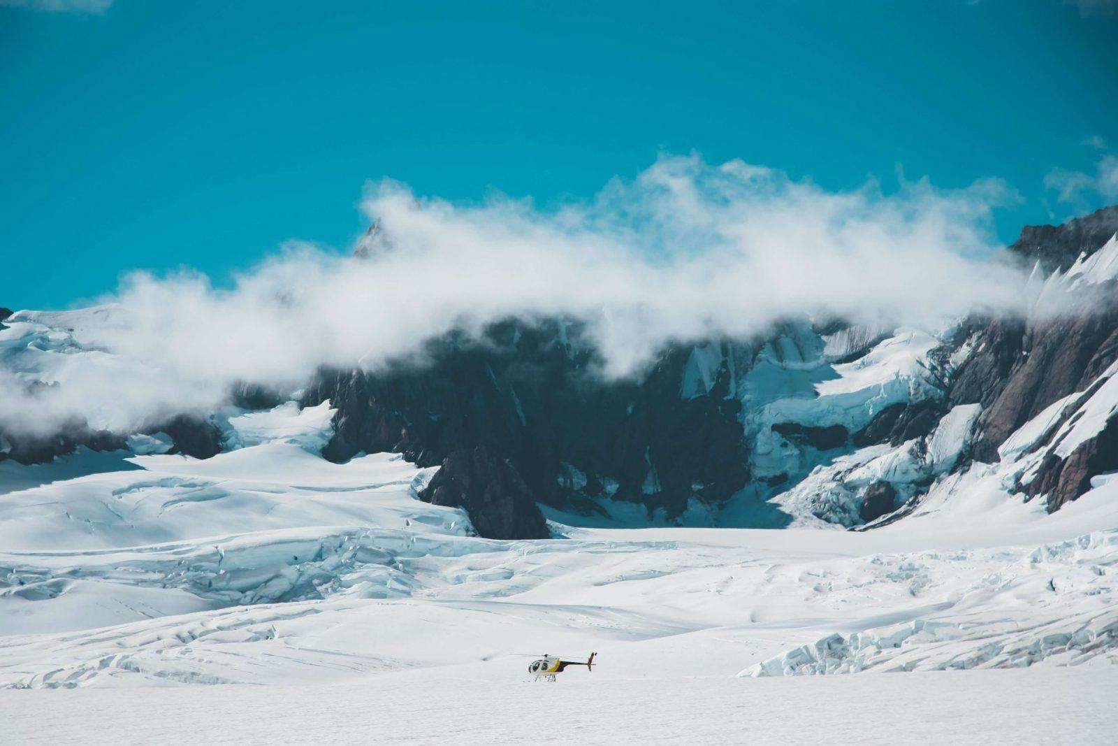 Franz Josef glaciers helicopter tour
