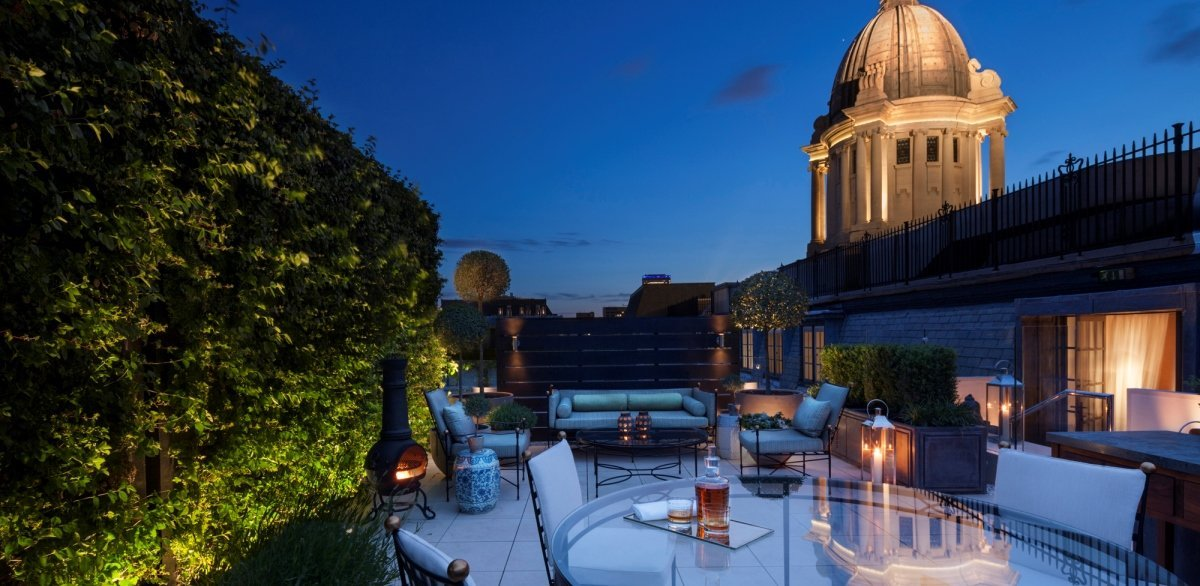 Garden house amazing suite luxsphere