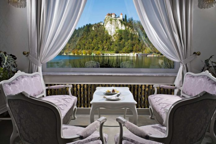 Grand Hotel Toplice luxury hotels in lake bled
