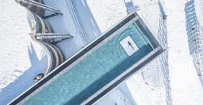 HOTEL HUBERTUS : BEST INFINITY SKY POOL IN DOLOMITES
