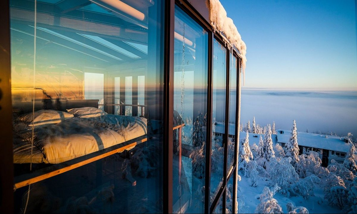 room with the best view - Snow Finland