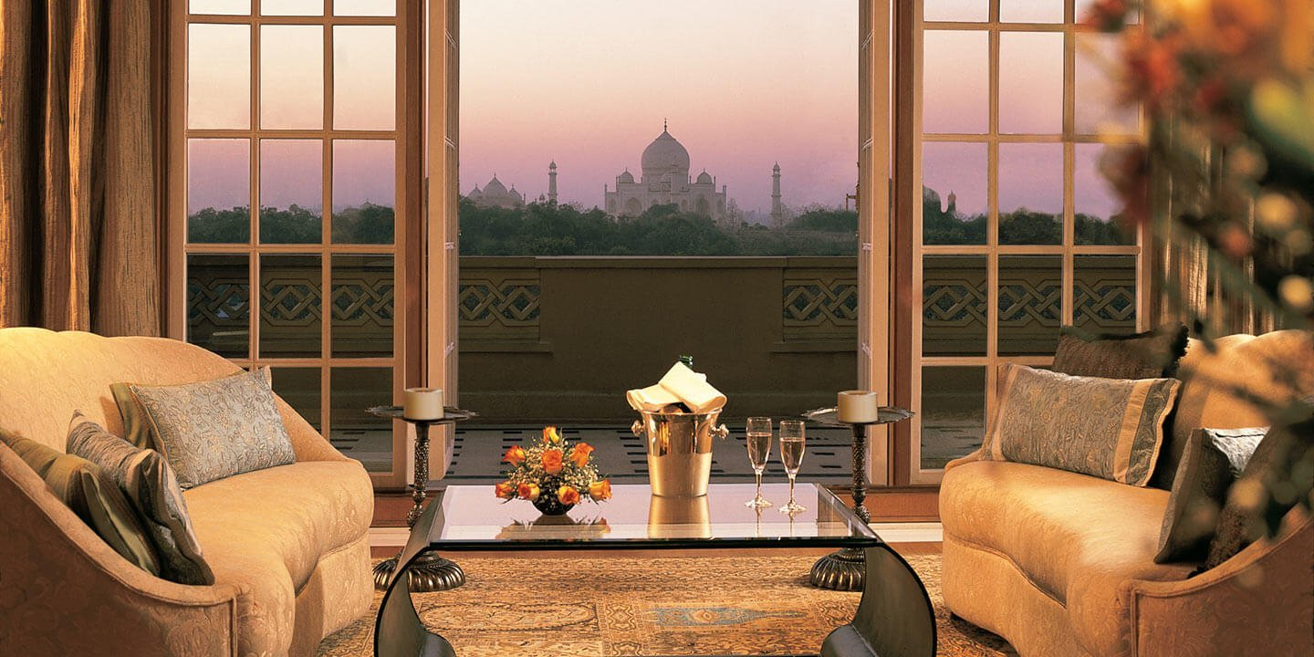 room with the best view in India Taj Mahal