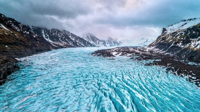 Ice caves of Vatnajokull Glacier places to visit in iceland