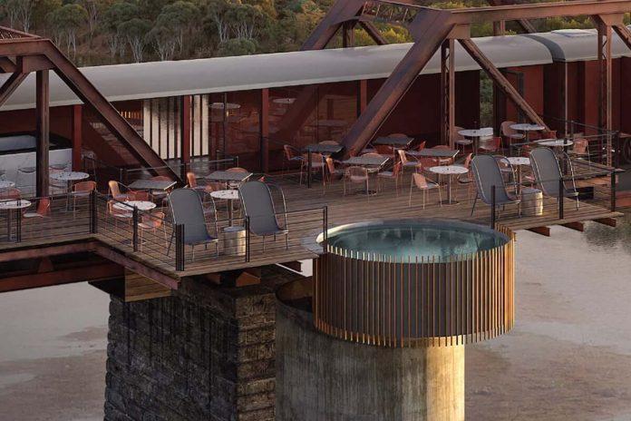 Kruger Shalati swimming pool