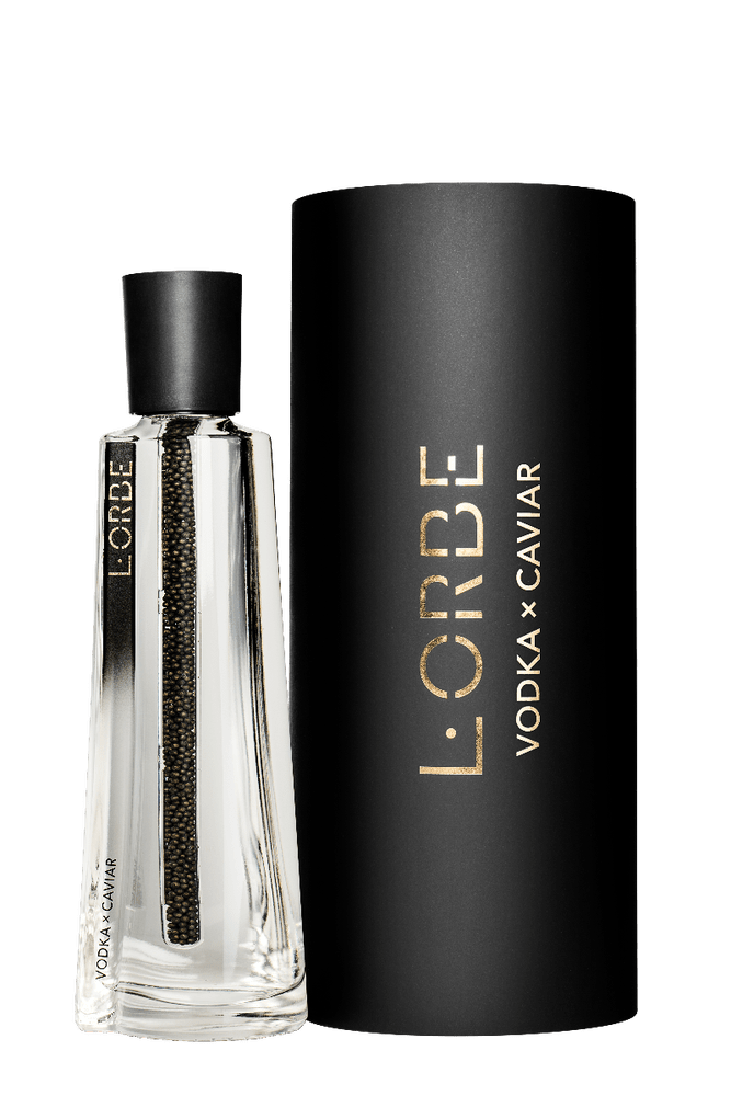 L'Orbe's Caviar Vodka luxury stocking filler gift ideas