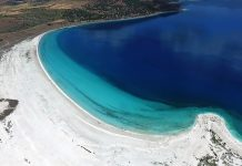 Places to see in Pamukkale Lake Salda