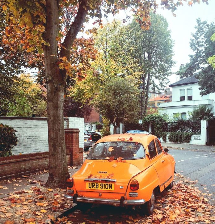 London during Autumn cute streets