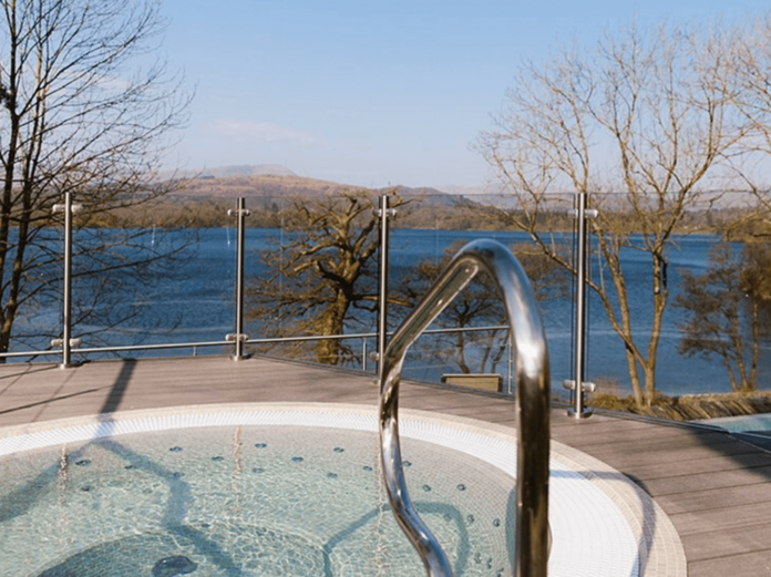 Low Wood Bay Resort Spa hot tub