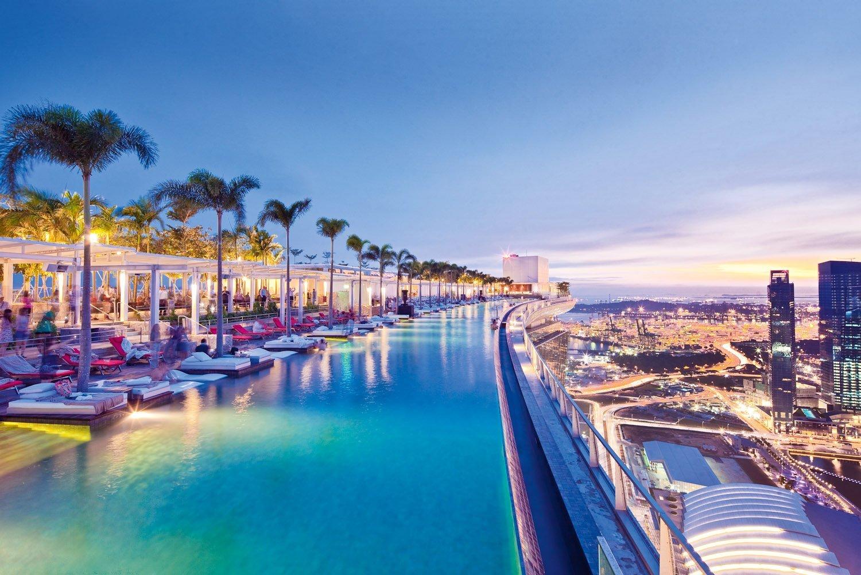 Marina Bay Sands best pool singapore