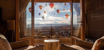 CAPPADOCIA HOTELS WITH THE BEST VIEW OF THE BALLOONS