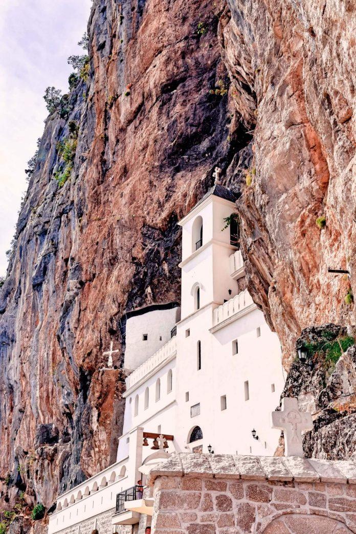 Ostrog Monasterymontengro places to visit
