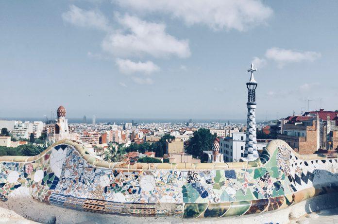 Park Güell best view points in barcelona