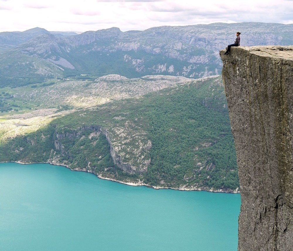 Pulpit Rock norway epic hike in europe Luxsphere