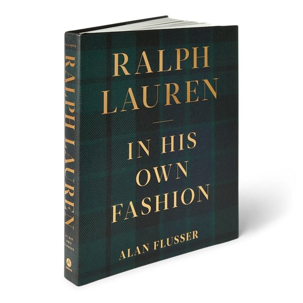 Ralph Lauren In His Own Fashion coffee table book