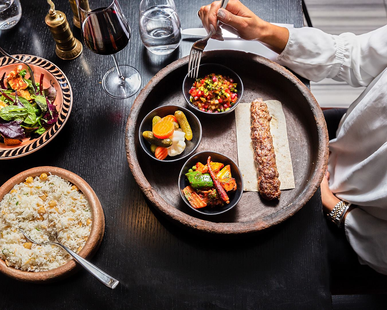 Restaurants in mayfair Ruya London