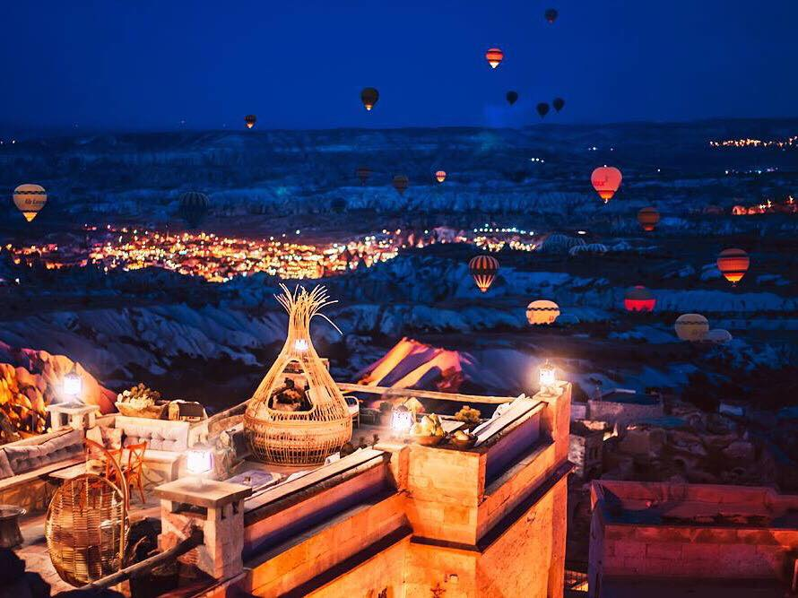Rox Cappadocia hotels with the best view in cappadocia