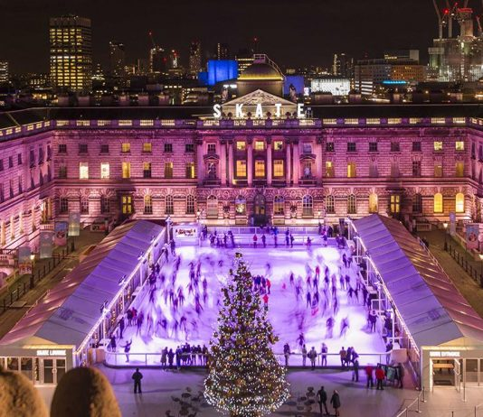 Somerset House Ice Skating in London