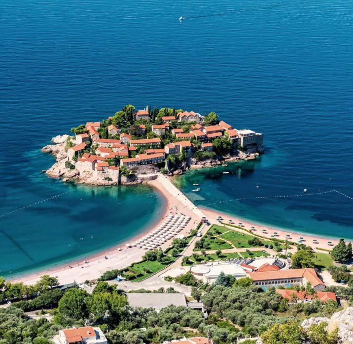 Sveti Stefan aman places to visit on montenegro