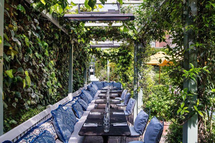 ivy chelsea al fresco dining in london