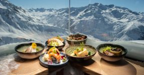 MICHELIN STARRED DINING AT HIGH ALTITUDE