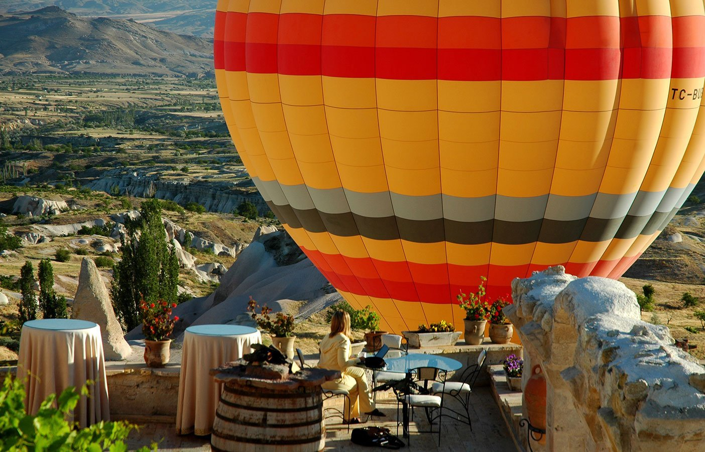 The Museum Hotel with the best view cappadocia uchisar
