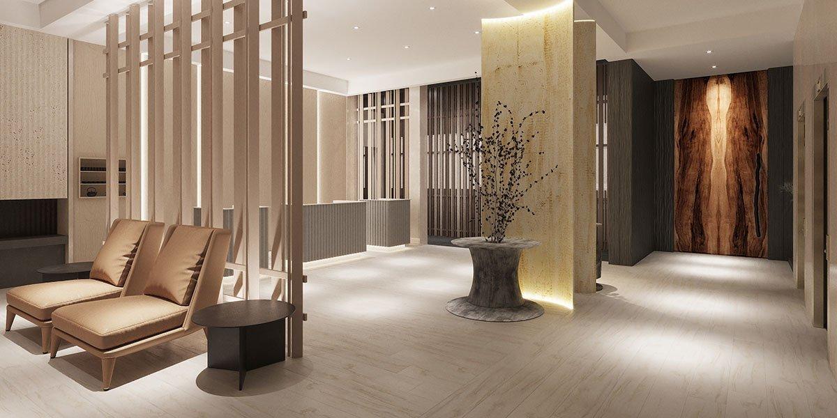 The Prince Akatori lobby