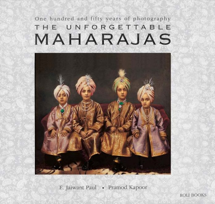 The unforgettable Maharajas coffee table books