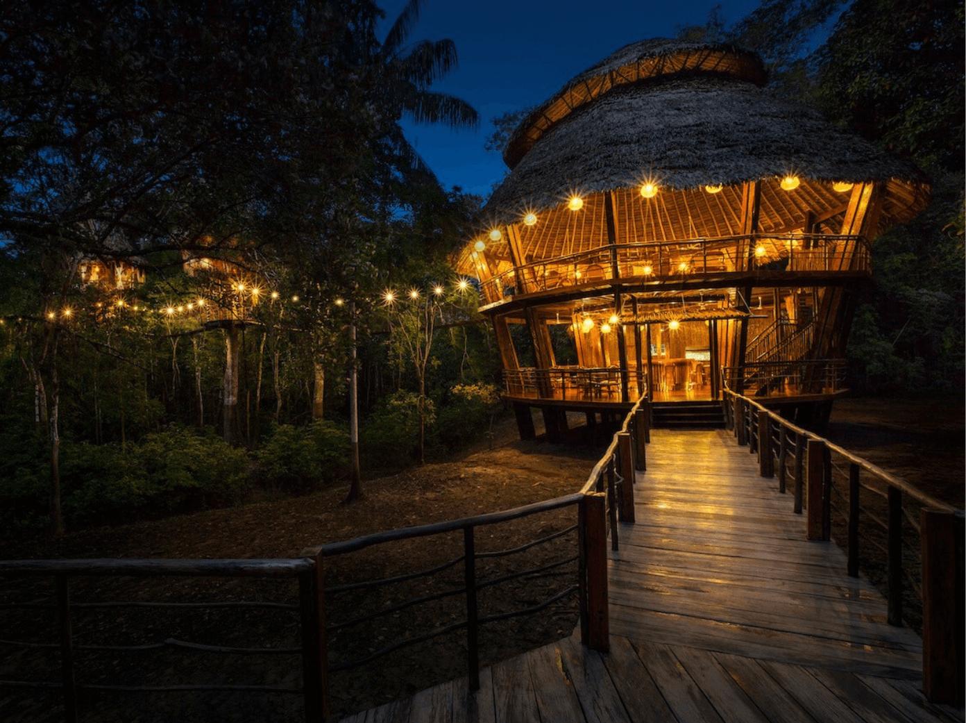 Treehouse-Lodge Resort unique hotels