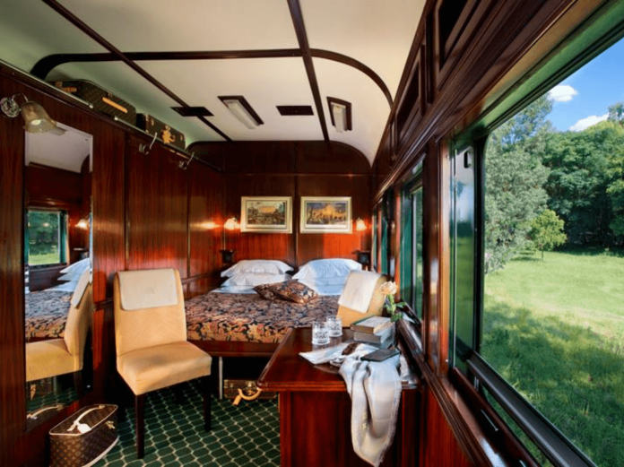 Unique Luxury Trains journeys around the World The Rovos Rail South Africa