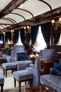 Venice Simplon Orient Express Unique Luxury Trains journeys around the World cabin