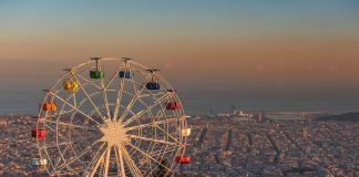 Watch the Sunset from Sagrat Cor and Tibidabo
