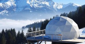 WHITEPOD: ECO LUXURY PODS IN THE SWISS ALPS