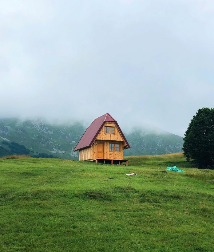 Zabljak in the Middle of Durmitor Mountain Range & National Park montenegro
