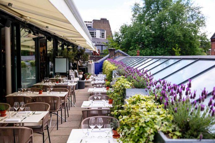 al fresco dining london Orrery Marylebone