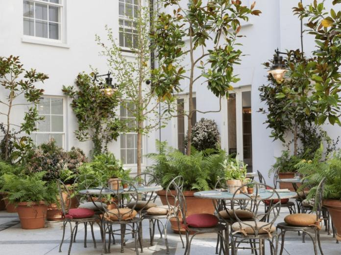 al fresco dining london petersham nursery