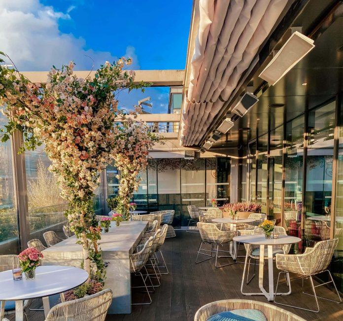 angler terrace al fresco dining london