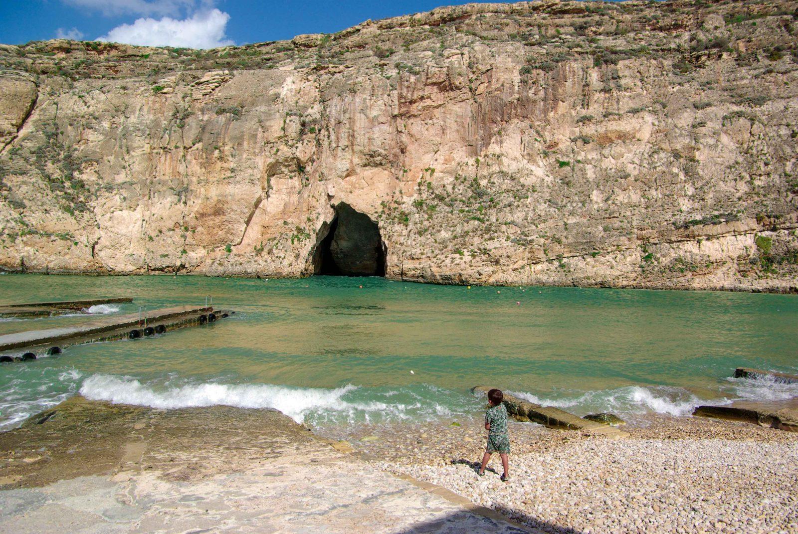 best beaches in Malta inland sea luxsphere travel