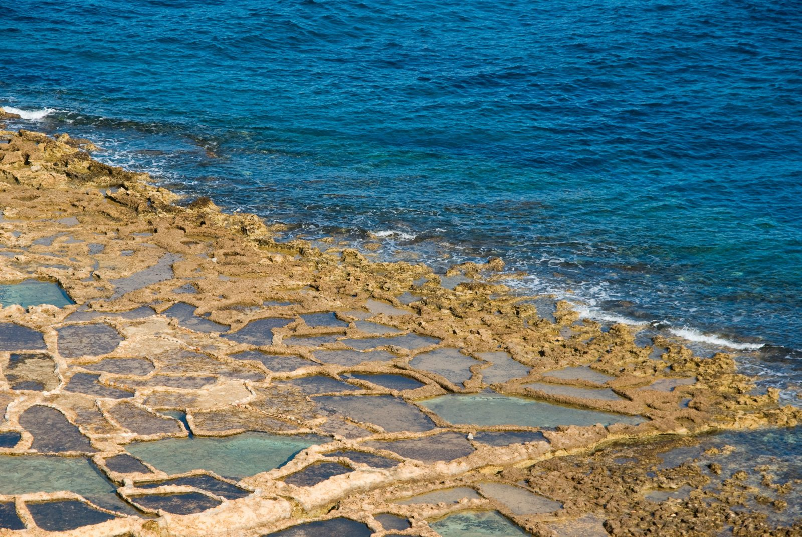 best beaches in malta and gozo salt pans