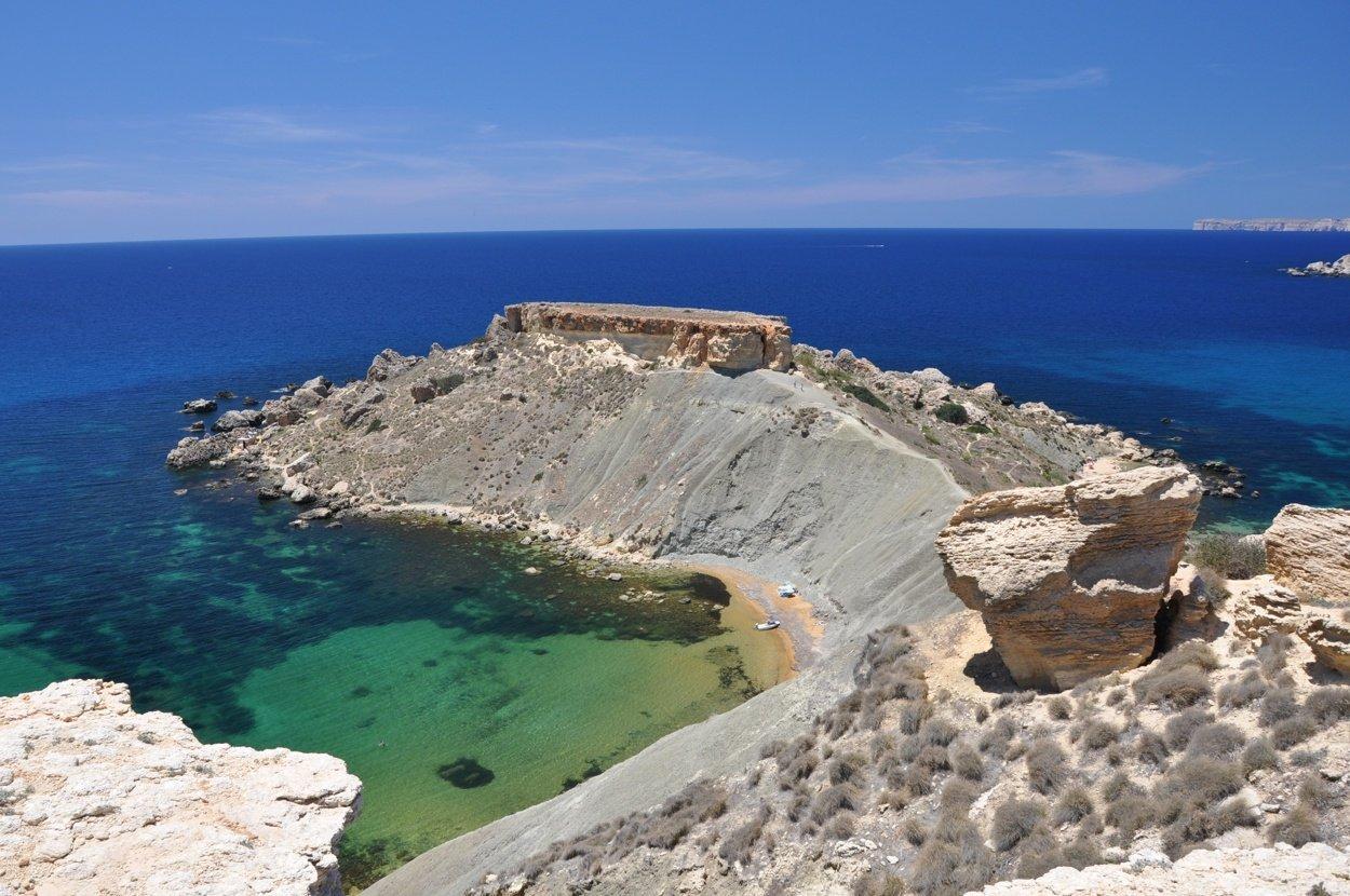 best beaches in malta gnejna bay luxsphere travel