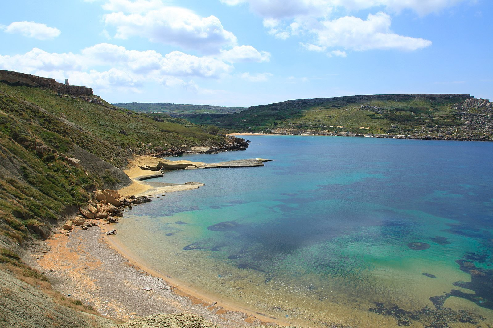 best beaches in malta gnejna bay luxsphere travel