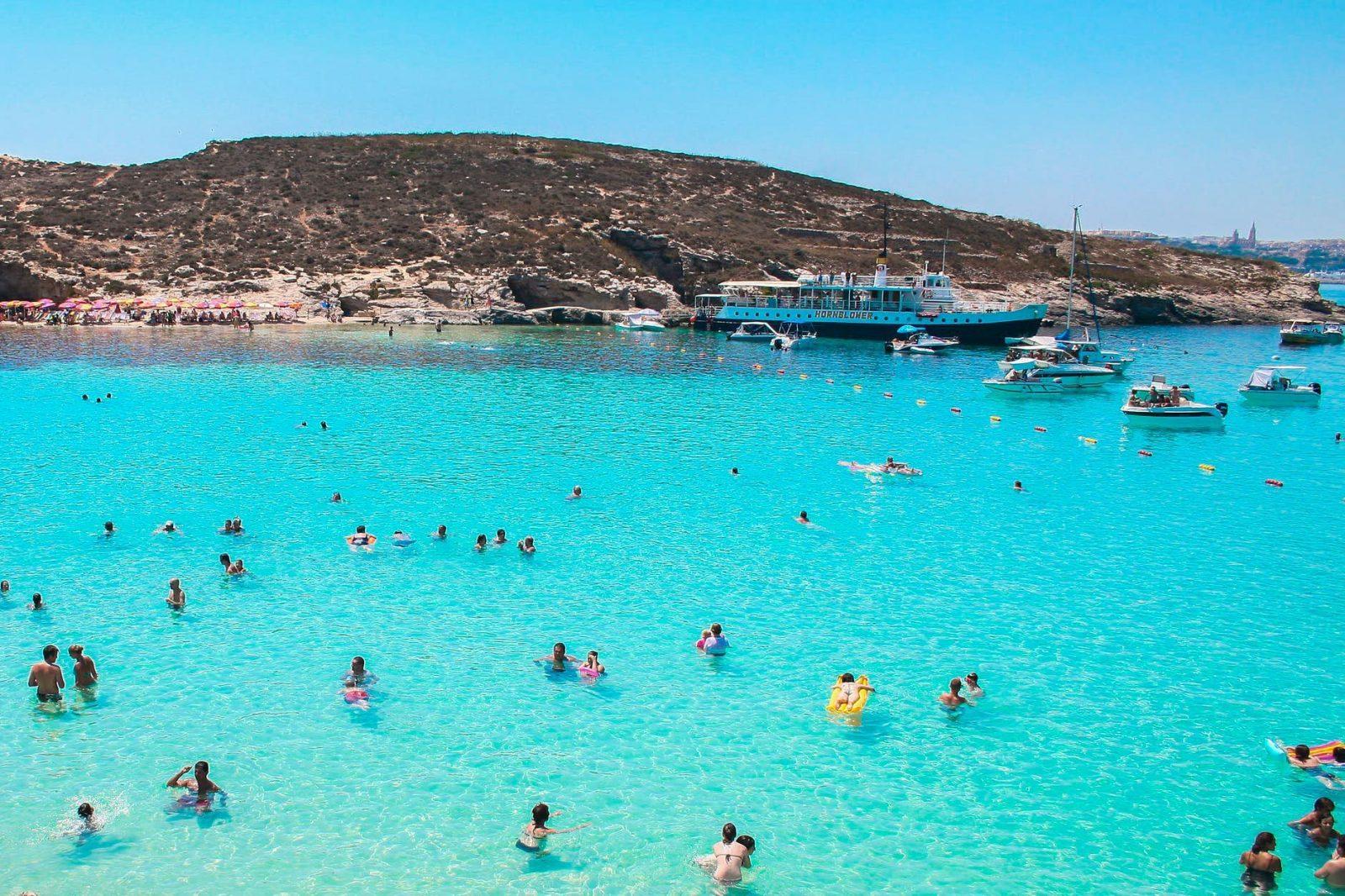 best beaches in malta gozo comino