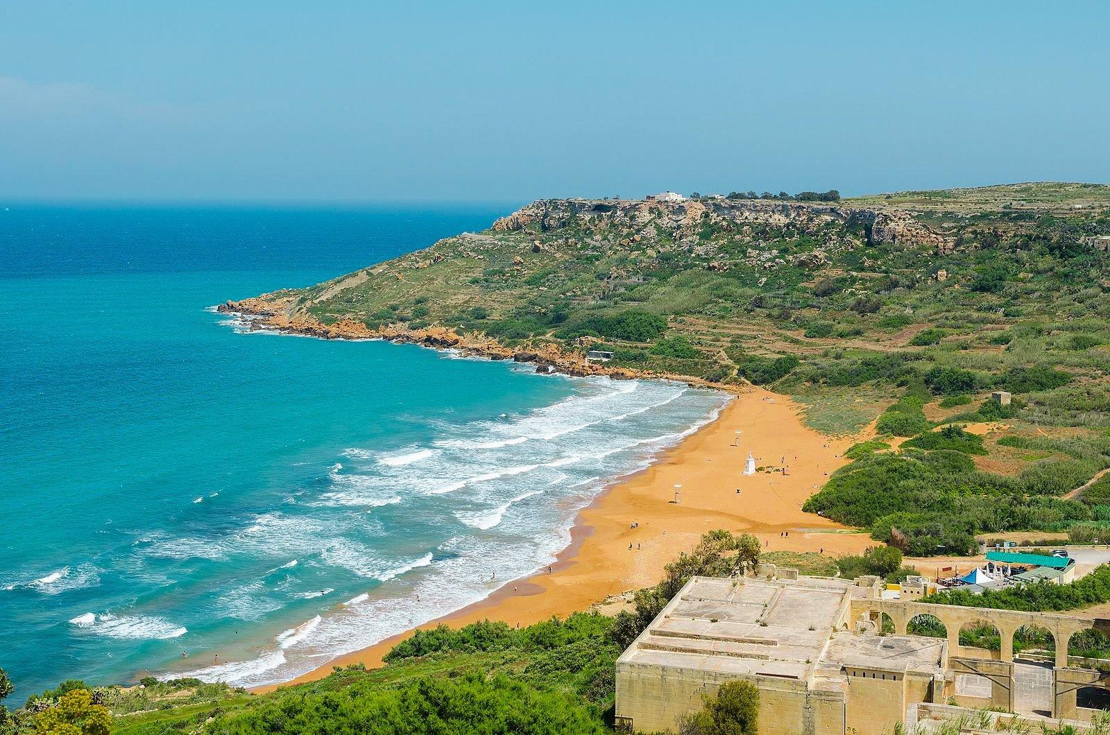 best beaches in malta gozo ramla bay